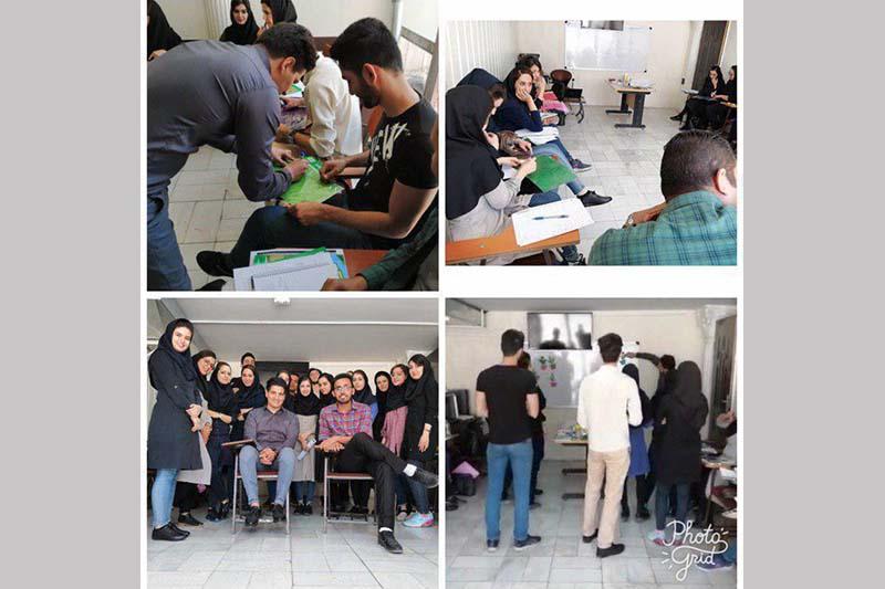 برگزاری کارگاه ضمن خدمت ویژه مدرسین دوره های زیر ۱۸ سال