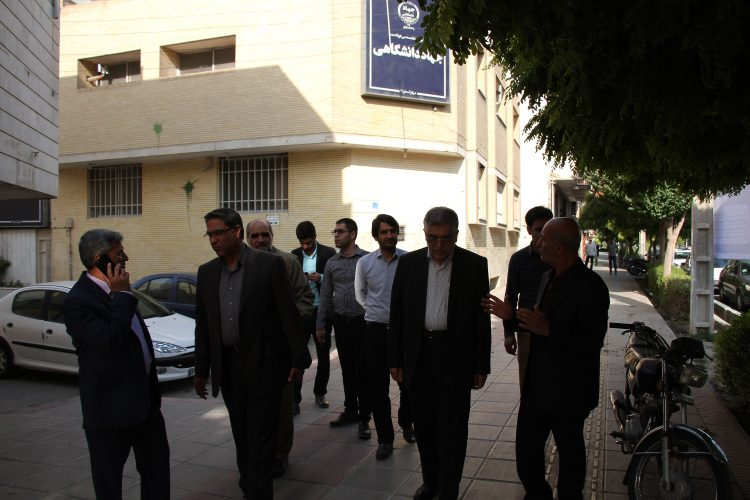 بازدید رییس جهاد دانشگاهی از مرکز هشت بهشت