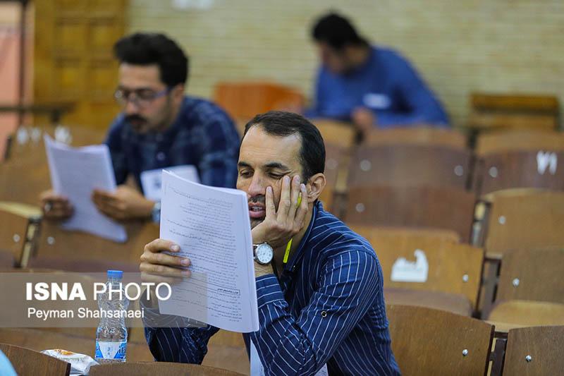 رقابت ۸۴۲۴ نفر در آزمون استخدامی آتشنشانی استان اصفهان