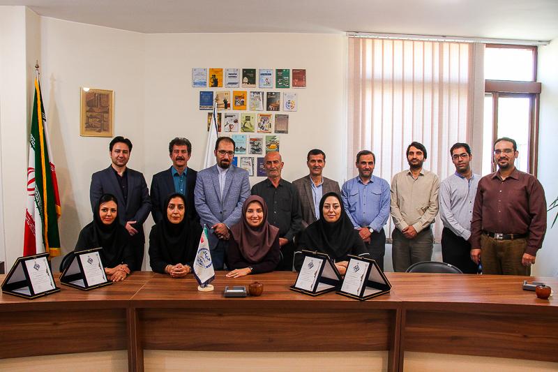 اولین نشانهای پژوهشکاوی جهاد دانشگاهی اهدا شد