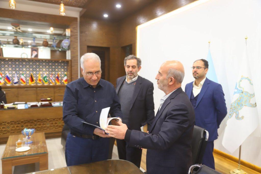 دیدار رییس جهاد دانشگاهی واحد اصفهان با شهردار اصفهان